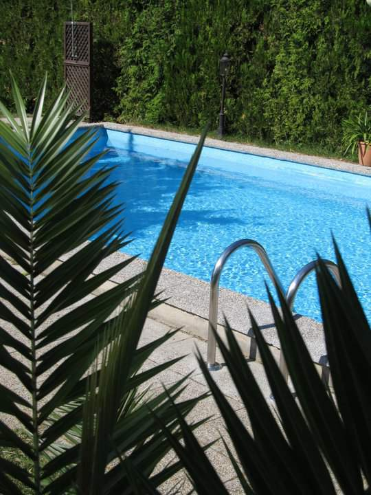 Swimming Pool in the garden available in the Guesthouse in Balatonfüred